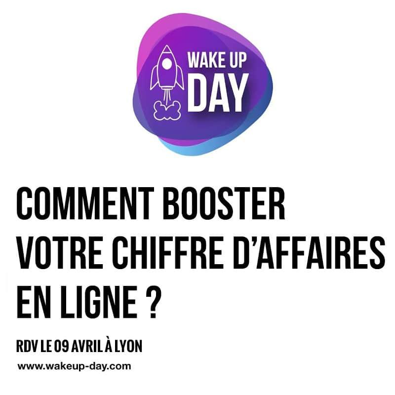 Irez-vous au WakeUp Day à Lyon le 9 Avril ?