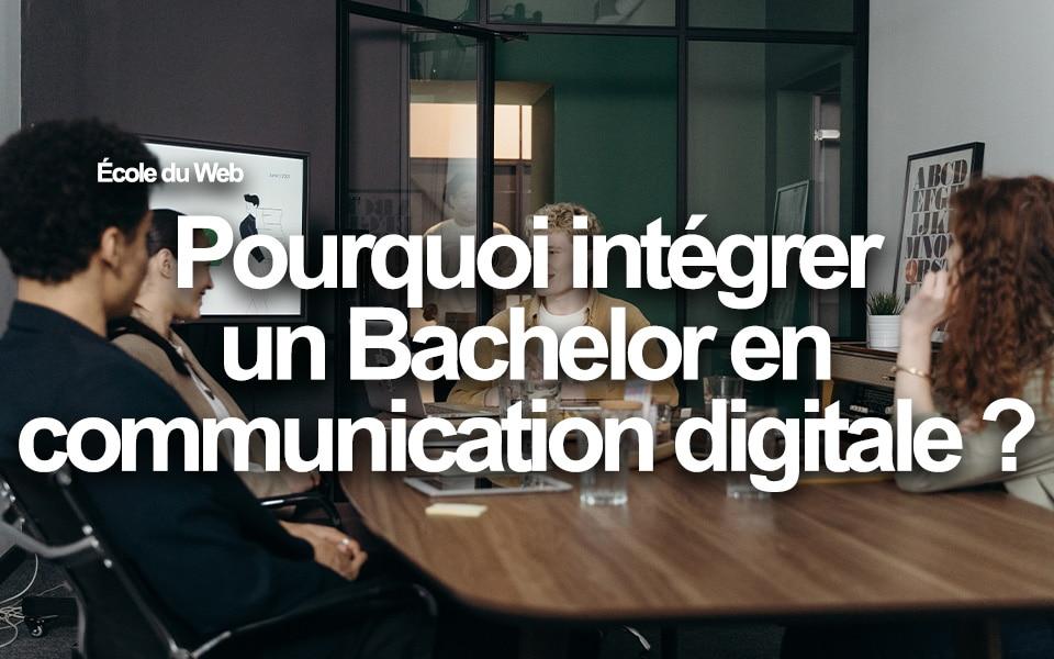 bachelor communication digitale